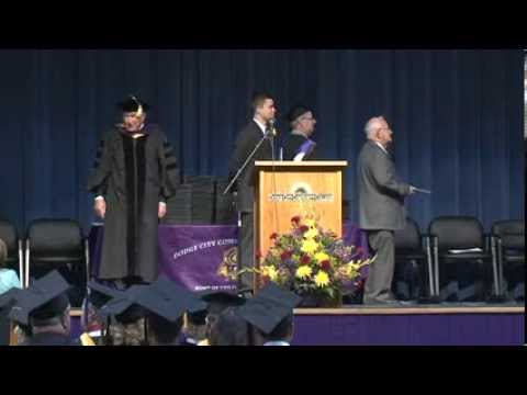 Dodge City Community College Commencement Ceremony May 2013 #DC3