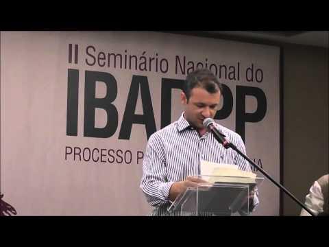 """II Seminário IBADPP - """"Truques e Trapaças do Jogo Processual Penal"""" por Alexandre Morais da Rosa"""