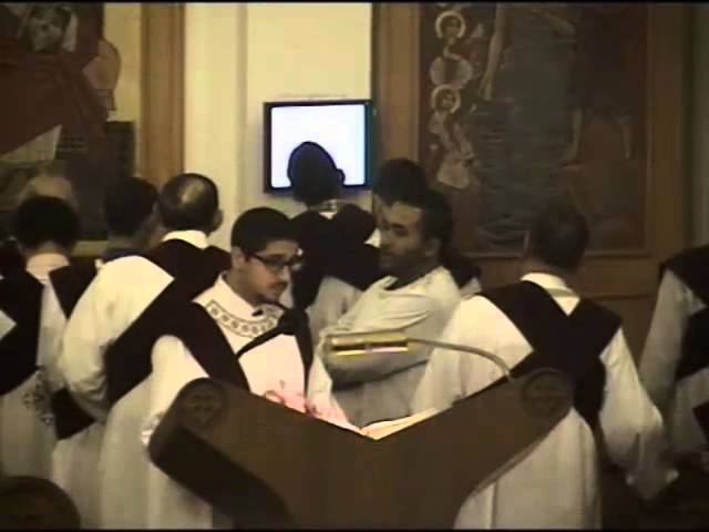 (2014) Feast of Nativity - Divine Liturgy - Part 1
