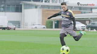 Mesut Ozil presents the toughest crossbar challenge yet
