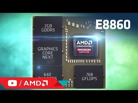Introducing AMD's Embedded Radeon™ E8860 discrete GPU