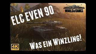 Let's Play World of Tanks | ELC EVEN 90 | Was ein Winzling! [ German - Gameplay - Deutsch ]