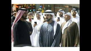 Sheikh Hamdan attends the first evening of the Dubai World Cup Carnival, in Meydan racecourse