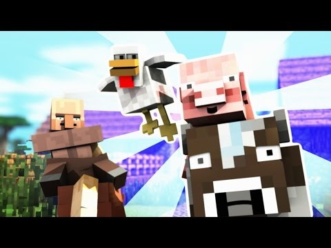 THE TRIOMIGOS - Stealing Wheat - Minecraft Animation - FrediSaalAnimations