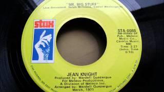 Watch Jean Knight Mr Big Stuff video