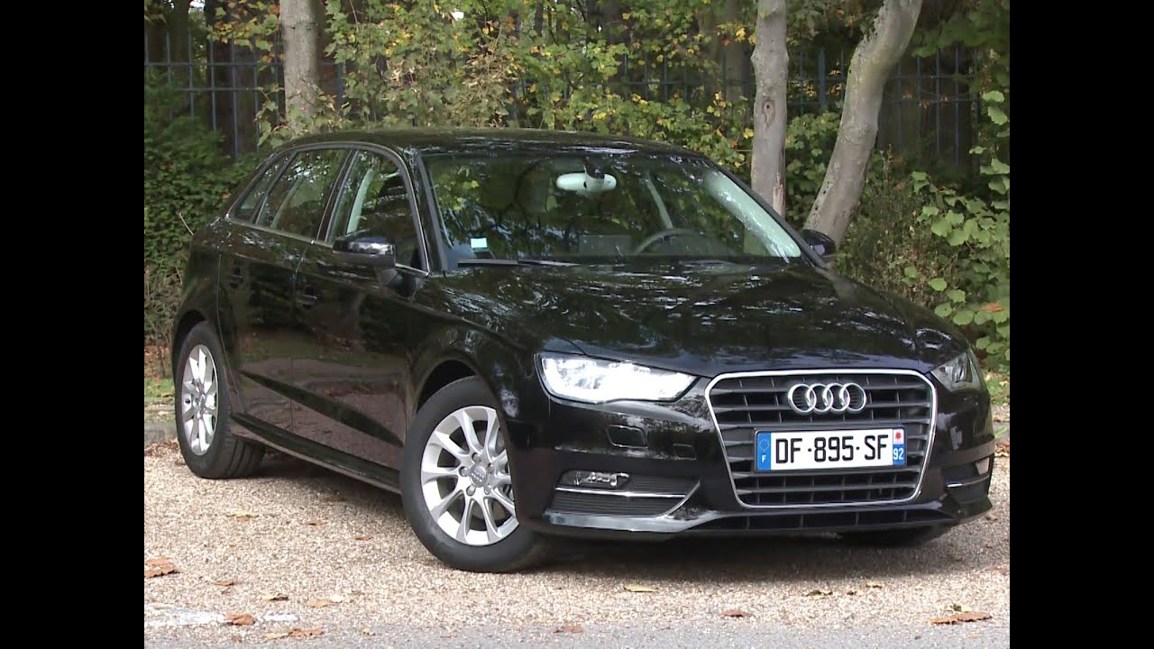 essai audi a3 sportback 1 6 tdi 110 ultra business line youtube. Black Bedroom Furniture Sets. Home Design Ideas