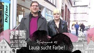 """Kaufrausch Alsfeld #3 - """"Laura sucht Farbe"""""""