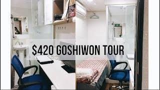 $420 Goshiwon/Guesthouse Tour South Korea | Student Life @ Korean University