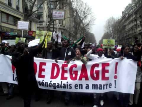 19 mars - 19 Mars Les Sénégalais de Paris et  de la Diaspora disent Non à Wade