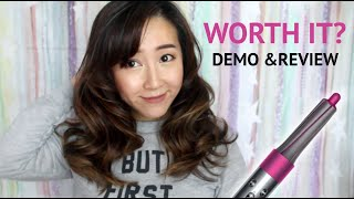 Dyson Airwrap   IS IT WORTH IT? Demo & Review