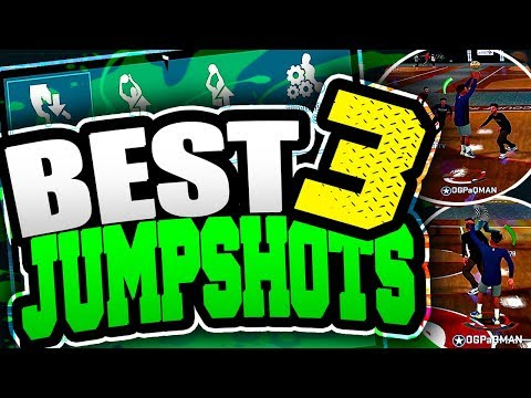 THE BEST RELEASE FOR EVERY BUILDS!! TOP 3 BEST JUMPSHOTS IN NBA 2K18!! NEVER MISS AGAIN!!