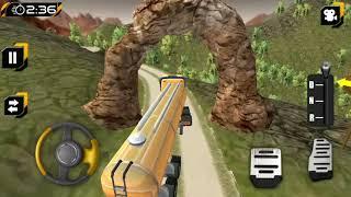 Diesel Oil Tanker Truck Simulator   Street Vehicles & Trucks for Kids Game Play