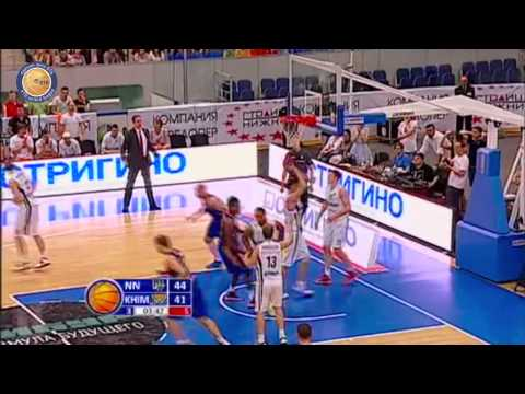 1/4 playoffs. Nizhny Novgorod - Khimki Game 3 Highlights
