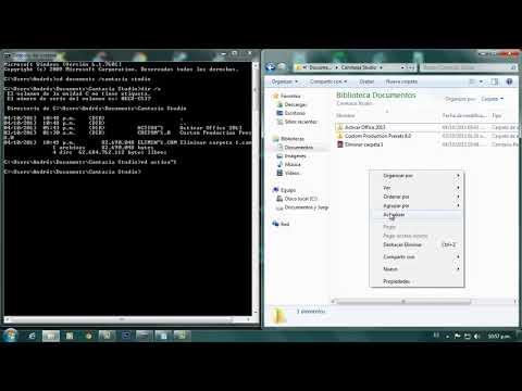 Como Eliminar Carpetas imposibles de borrar Windows Vista / 7 / 8