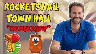 Box Critters - Rocketsnail Talks Membership - Town Hall Discussion!
