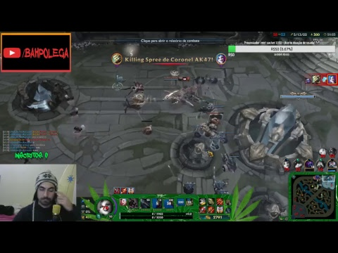 Livestream de League of Legends _|/_  Chapado na Ranked Solo/Duo! #HEMP  - 66 ( !RP = RP GRATIS)