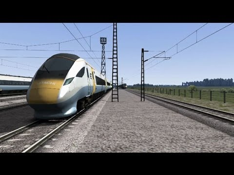 Catch A Train! - Train Simulator 2014 - High Speed Trials With Hitachi Super Express Concept Train