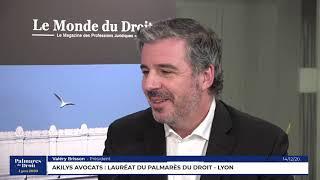 Décideurs du Droit - Akilys Avocats - Lauréat du Palmarès du Droit - Lyon 2020