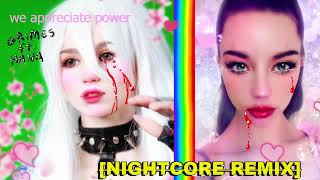 Nightcore Grimes Ft Hana We Appreciate Power