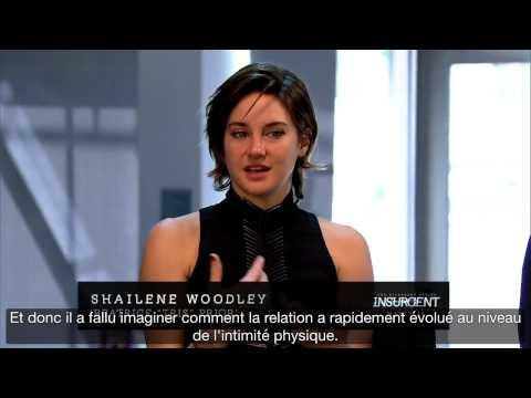 Theo James et Shailene Woodley live promo Insurgent (2/3) - Mars 2015 - VOSTFR