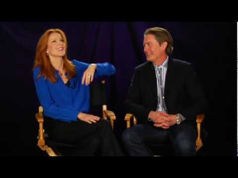 Desperate Housewives - Behind The Scenes : TCA Press Tour - Marcia Cross & Kyle MacLachlan