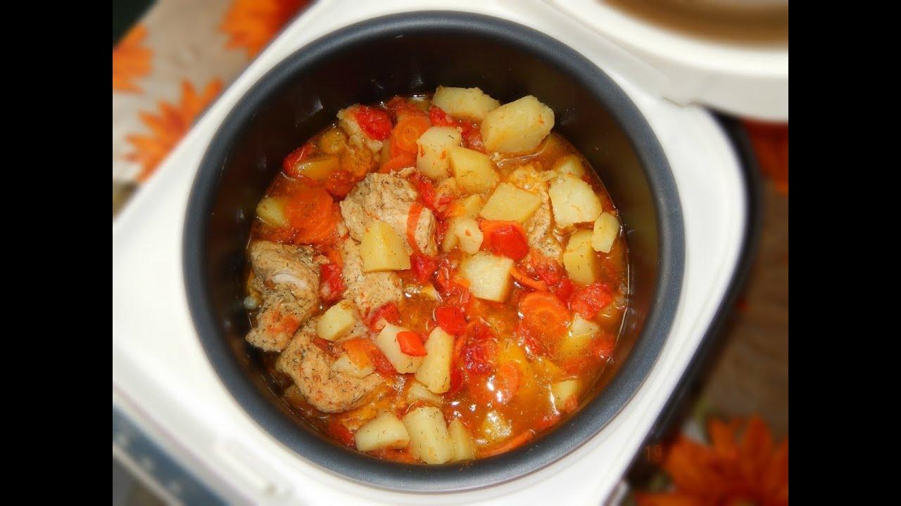 Филе индейки с овощами в мультиварке рецепты