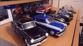 Modely aut 1:43 s funkčními majáky