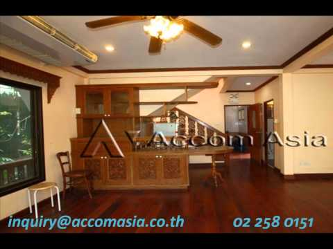 RENT : THAI STYLE HOUSE IN COMPOUND IN SATHORN – BANGKOK / CHONG NONSI BTS.