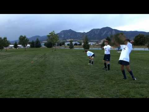 Rookie Rugby - Running in Defense