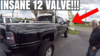 INSANE 2,000+ HP 12 VALVE CUMMINS DUALLY!!!
