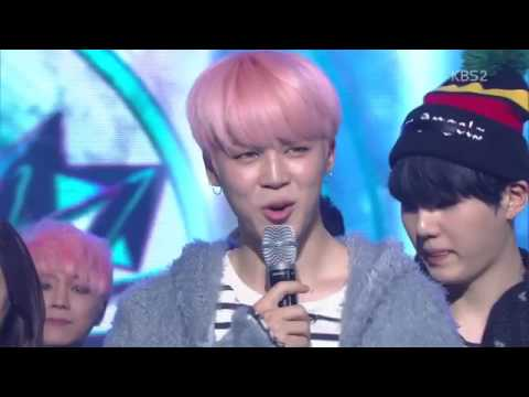 170224 BTS  'Spring Day' WON 1st PLACE @ KBS Music Bank 뮤직뱅크
