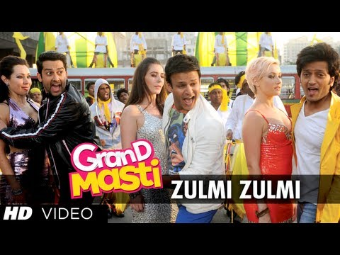 Zulmi Zulmi Grand Masti Full Song    Riteish Deshmukh Vivek...