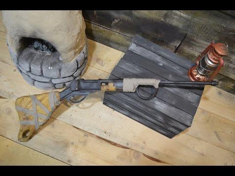 Как сделать болтовку из игры Rust  How to make a Bolt Action Rifle from Rust.