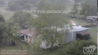 Victoria, TX 8/25/17, Harvey Hurricane Clip