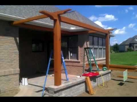 Time-Lapse Patio Construction in Bloomington, IL
