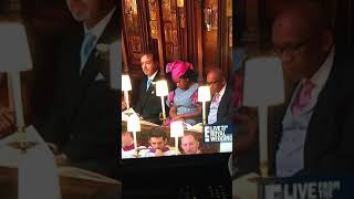 Guest Sleeps At Royal Wedding