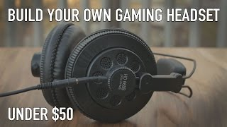 (28.0 MB) Gaming Headsets Suck - Make Your Own For $50 or Less Mp3