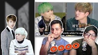Download Lagu GUYS REACT TO BTS 'Jin, the one who can control savage Suga' Gratis STAFABAND