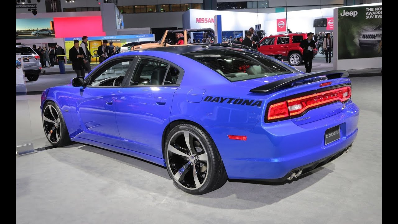 2013 Dodge Charger Daytona 2012 La Auto Show Youtube