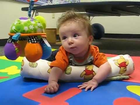 Infant Phys Therapy Torticollis Exercises Part3 Youtube