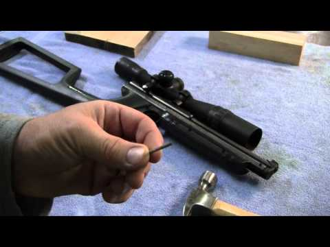 Making a Crosman 1377 Pump Arm Pt. 2