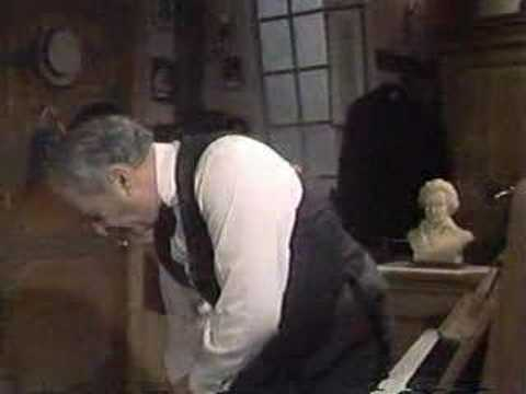 Victor Borge corrects a mistake