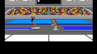 Les Jeux Olympiques sur le Commodore 64