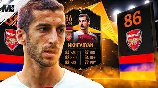 FIFA 19 UEL LIVE MKHITARYAN REVIEW   86 UEL LIVE MKHITARYAN PLAYER REVIEW   FIFA 19 ULTIMATE TEAM