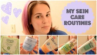 My Skin Care Routines: Morning, Evening, & Body Skin Care, +Tips