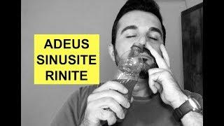Como se livrar da Rinite, Sinusite e Labirintite