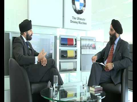 071112 Sikh Spectrum - Interview with  Manjit Singh Ahluwalia General Sales Manager (BMW)