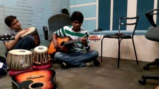 Bhagwaan Hai Kaha Re Tu- Sonu Nigam (Cover) On Guitar Ft. Sachiv