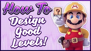 How To Design Good Mario Maker Levels (feat. What's With Games)