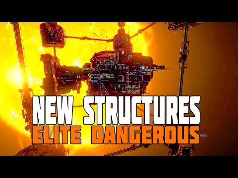 Elite Dangerous - New Space Structures - Beta Patch 2.2